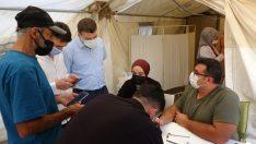 Muş'ta mavi kategori için aşı seferberliği