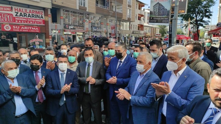 Müstakil Sanayici ve İşadamları Derneği Kars Şubesi açıldı