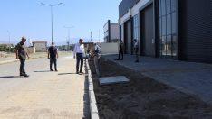 Nazilli Belediyesi yol çalışmalarını sürdürüyor