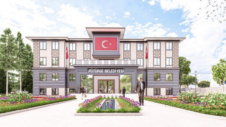 Pütürge Belediyesi yeni hizmet binasına kavuşuyor