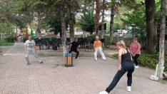 Safranbolu Hanımevi'nde sabah sporu