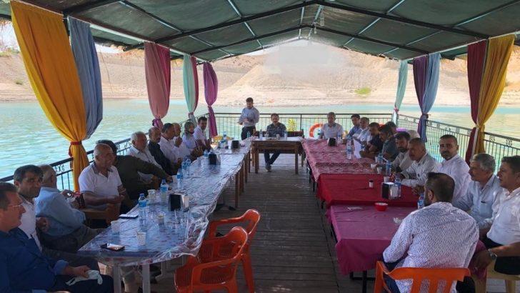 Samsat'ta aşı bilgilendirme toplantısı yapıldı