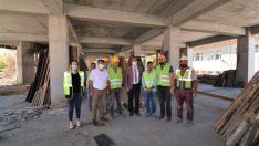 Sandıklı'da 'Kültür Merkezi' inşaatı devam ediyor