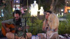 Sokak sanatçısı Pako Dağan, Bilecik'te mest etti