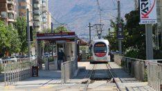 Talas T2 raylı sistem hattı yeniden hizmete başladı