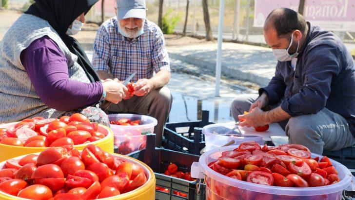 Talas'ta kış hazırlıkları devam ediyor