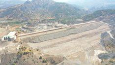 Tamamlandığında ekonomiye 320 milyon liralık katkı sağlayacak Çetintepe Barajında çalışmalar sürüyor