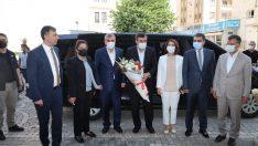 TBMM Plan ve Bütçe Komisyonu Başkanı Yılmaz'dan Beyazgül'e ziyaret