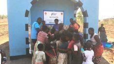 TDV Kütahya Şubesi Malawi'de su kuyusu açtı