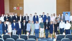 TOBB Başkanı Hisarcıklıoğlu, Manisa'da iş adamları ile buluştu