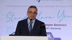 """TSE Başkanı Şahin: """"TSE markası, tüketiciler tarafından güvenin garantisi olarak algılanmaktadır"""""""