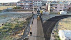 Tuşba Belediyesinden trafiği rahatlatacak yol çalışması
