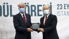 Tuşba Belediyesi'nin, 'Bedesten Çarşısı' projesine başarı ödülü