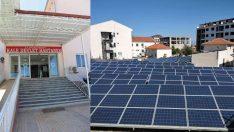 4 yıl önce kurulan santral, hastanenin elektrik tüketiminin tamamını karşılıyor