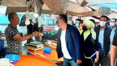 AK Parti Edremit'te yüreklere dokunuyor