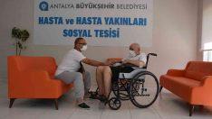Alanya Hasta ve Hasta Yakınları Tesisi yeniden hizmette