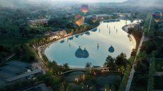 Avrupa'nın en büyük kristal lagün havuzunun üçte ikisi doldu