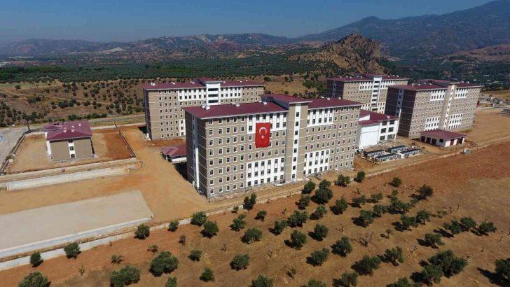 Aydın'da 2 bin 392 kişilik kız öğrenci yurdu hizmete açıldı