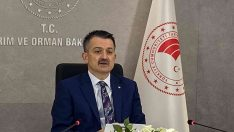 """Bakan Pakdemirli: """"Yeşil Kalkınma Devrimi'ni gerçekleştirmede Türkiye öncü rolü üstelenecektir"""""""