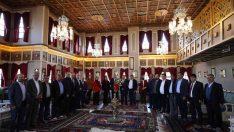 Başkan Çerçi muhtarları Yunus Emre Kültür Parkı'nda ağırladı