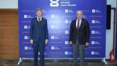 Başkan Küpeli, Leblebicier ile sanayideki yeni yatırımları konuştu