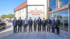 """Başkan Palancıoğlu: """"Serbest bölgede istihdamın ve üretimin artması için çalışıyoruz"""""""