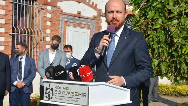 """Bilal Erdoğan: """"Kurumlarımızın hedef alınmasının bir sebebi var"""""""