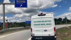 Cenaze hizmetinde 5 milyon kilometre yol kat edildi