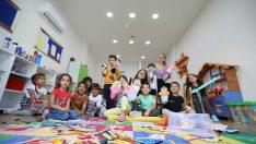 Enis-Necip Tüyeni Çocuk Gündüz Bakımevi'nde çocuklar mutlu