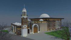 Erenköy'de Saçmacı Cami'nin temeli atılıyor