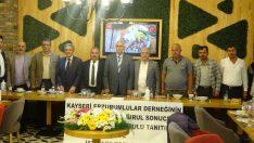 Erzurumlular istişare toplantısında buluştu