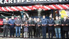 Fonksiyonel kapalı pazar Kartepe'de hizmete açıldı