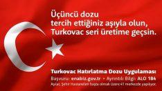 Gaziantep'te Türkovac aşısı için 200 gönüllü aranıyor