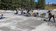 Haliliye'de 5 mahallede kilitli parke çalışması