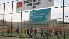 Haliliye'de semt sahaları gençlerin yeni spor adresi