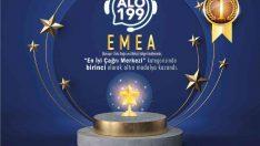 İçişleri Bakanlığı'na bağlı Çağrı Merkezi ALO 199 Avrupa birincisi