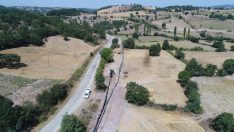 İvrindi Çukurlar Barajı 3 bin 580 dekar tarım alanını kapsıyor