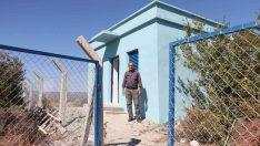 Kepenekli'nin 40 yıllık içme suyu deposu yenilendi