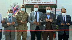 Midyat Telkari 11 Nolu Aile Sağlık Merkezi yeni yerinde hizmete başladı