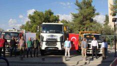 Mut Belediyesi araç filosuna kombi asfaltlama aracı kazandırıldı