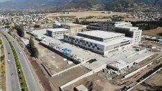 Osmaniye Devlet Hastanesi inşaatının yüzde 76'sı tamamlandı