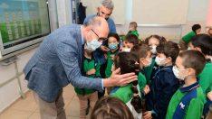 Rektör Prof. Dr. Erdal'dan İÇEM ve Mustafa Kemal İlkokulu'na ziyaret