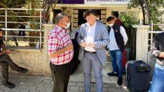 Spor İl Müdürü Fillikçioğlu, yurtlara gelen öğrencileri karşıladı