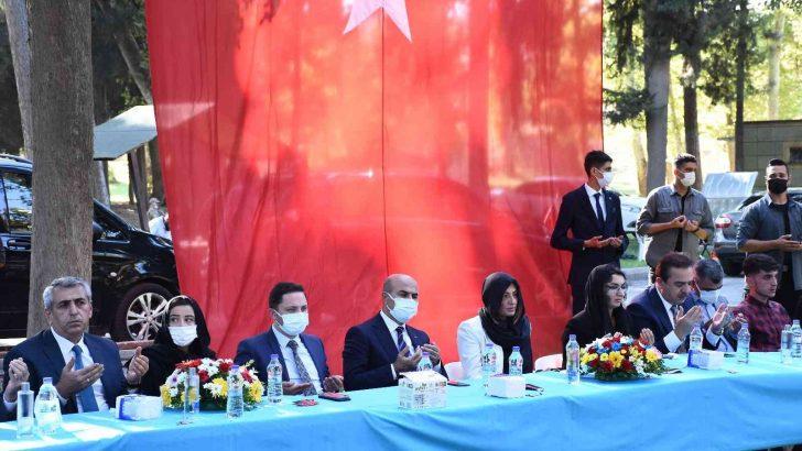 Teröristlerin Mardin'de 2 yıl önce şehit ettiği 12 kişi törenle anıldı