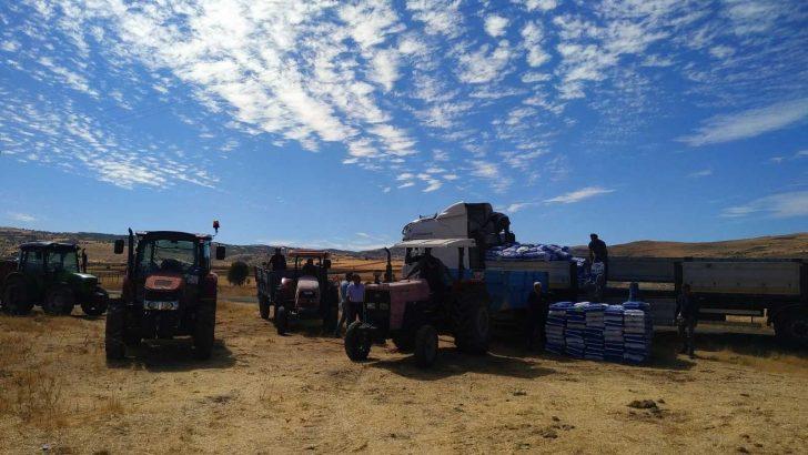 Tunceli'de bin 500 dekarlık alanda karma yem tohumluğu ekilecek