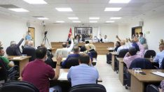 Turgutlu Belediye Meclisi 10 maddeyi görüşerek karara bağladı