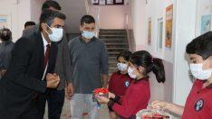 Türk Kızılay'ın Tutak'ta yaptırdığı özel eğitim sınıfı hizmete açıldı